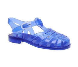 Sarraizienne waterschoen blauw doorzichtig volwassenen