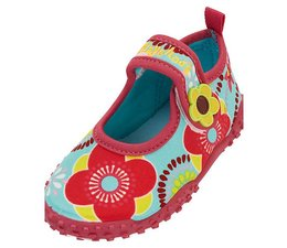 Playshoes UV waterschoen flowers