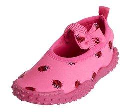Playshoes UV waterschoen pink ladybird