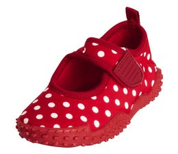Playshoes UV waterschoen red dots