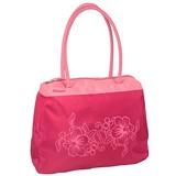 Strandtas flower pink