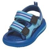 waterschoen sandaal blauw gestreept