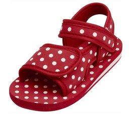 Playshoes watersandaal rood met witte stippen