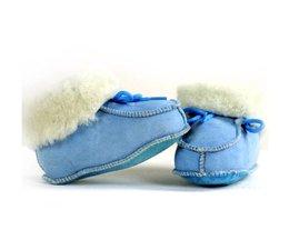 Bernardino Spaanse babyslof blauw