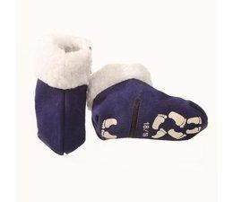 Baby pantoffel blauw