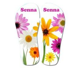 Slippers bloemen