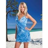 strandjurkje palm blauw