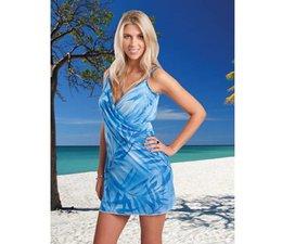 ITSA strandjurkje palm blauw