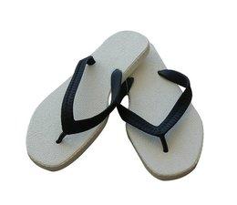 Sarraizienne slippers wit/zwart