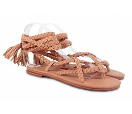 Donchoo Jo Braid Sandal light rust