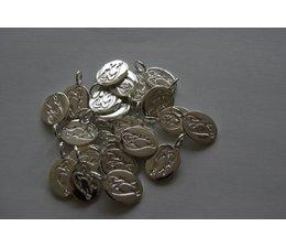 Bandajanas logo bedeltje zilver