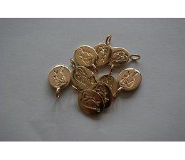 Bandajanas logo bedeltje goud