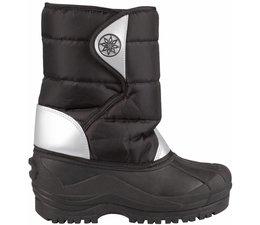 Winter-grip junior snowboots zwart/zilver