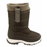 junior snowboots zip-up zwart