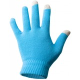 Touchscreen handschoenen aqua blauw