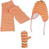 Winterset streep oranje