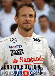 Jenson Button, Picture by Brunopress
