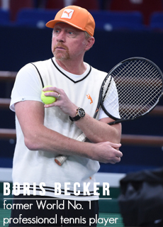 Boris Becker, picture by Brunopress