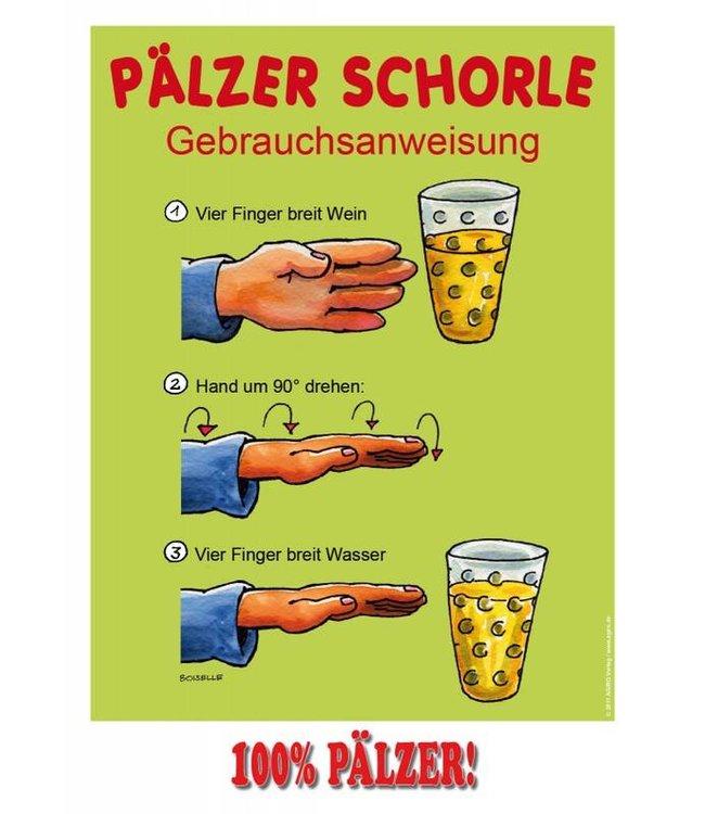 Poster Pälzer Schorle
