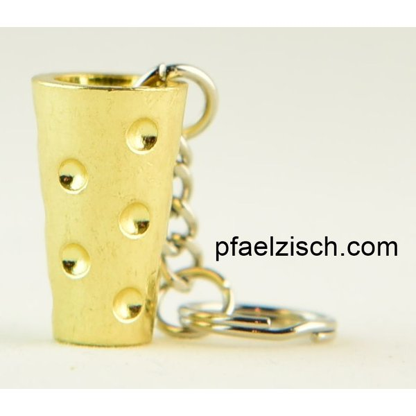 DUBBEGLAS Anhänger (Gold, Silber oder Kupfer)