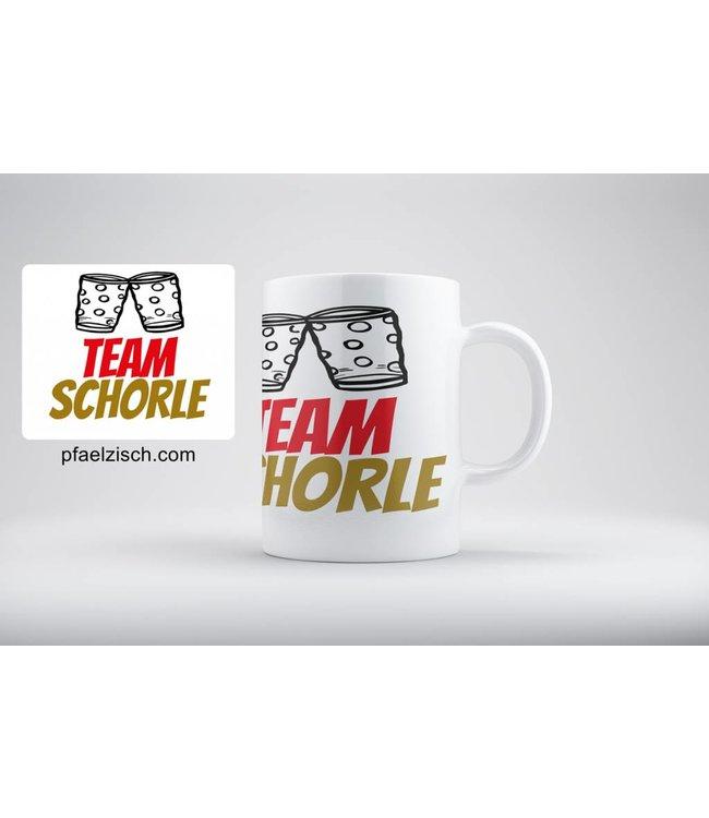 Die TEAM SCHORLE Kaffeetasse