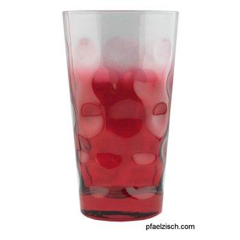 Dubbeglas rot (3/4 farbig) ohne Gravur