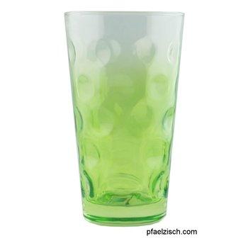 Dubbeglas grün (3/4 farbig)
