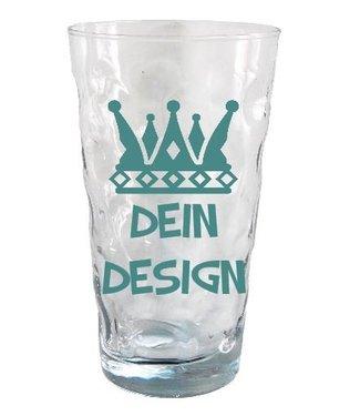 Dubbeglasgenerator (Dubbeglas transparent mit Konturfläche 0,5 Liter)