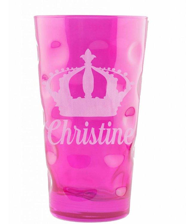 Dubbeglasgenerator (Dubbeglas pink 0,5 Liter)