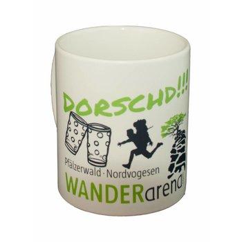 """""""Dorschd"""" Kaffeetasse Wanderarena"""