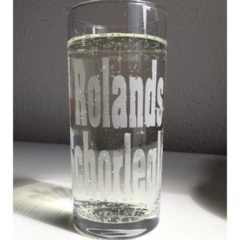 Weinstange Schoppenglas 0,5 Liter graviert mit Name