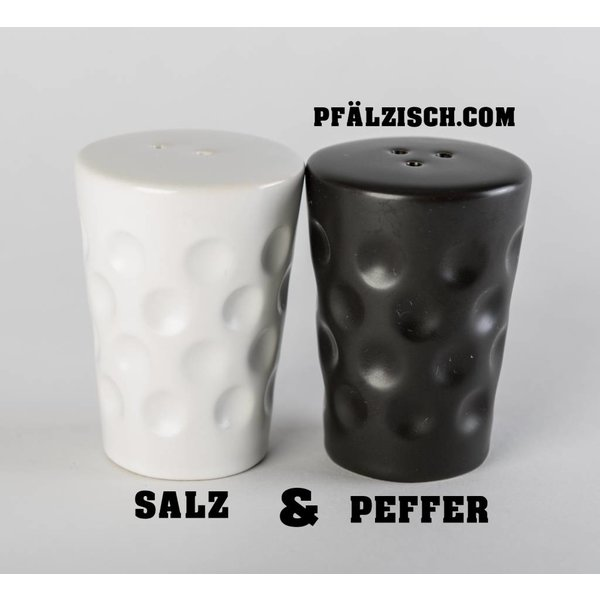 Dubbeglas Salz & Pfefferstreuer (Dubbestreier)