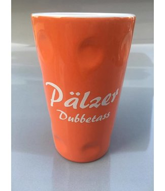 Dubbetasse orange 0,2l