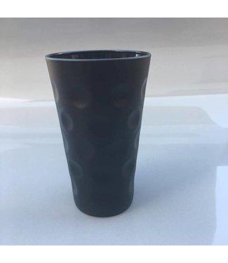 Dubbeglas schwarz 0,25l