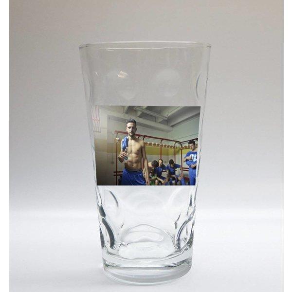 Dubbeglas mit Foto