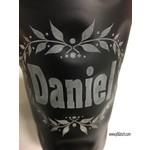 Dubbeglas schwarz mit Kranz