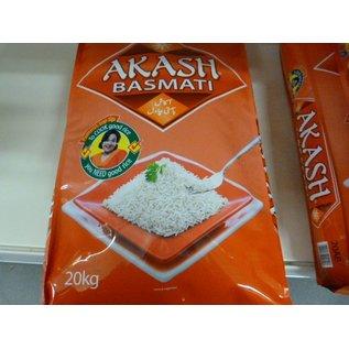 Akash basmati rijst 20kg