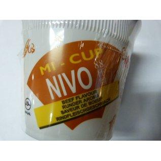 Nivo cup noodle beef 65gr
