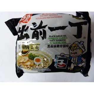 Nissin instant noodle black garlic oil 100gr