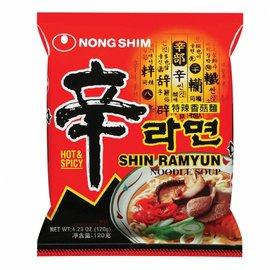 Nongshim Shin Ramyun Hot&spicy Noodle 120gr