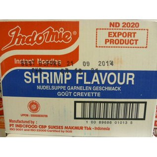 Indomie shrimp 40x70gr