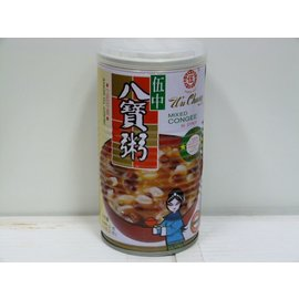 Mixed congee in syrup 380gr