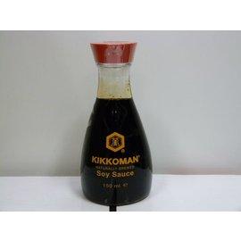 kikkoman soy sauce tafel fles 150ml