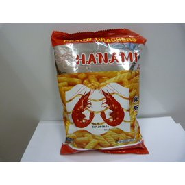 Hanami prawn crackers 60gr