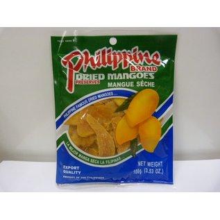 Philippine mango gedroogd 100gr