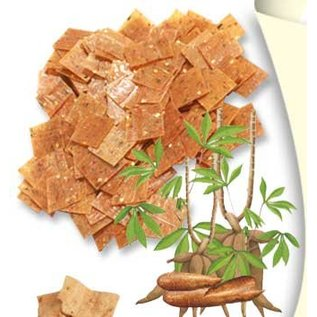 Cassava kroepoek ongebakken 500gr