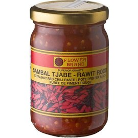 Flower brand sambal rawit rood 375gr