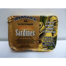 Brunswick sardine in soya oil 106gr