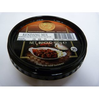 koningsvogel rendang mix 100gr