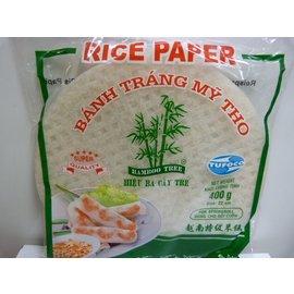 Rice paper rond (rijstpapier) 22cm 400gr